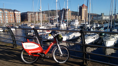 Santander bike in Marina