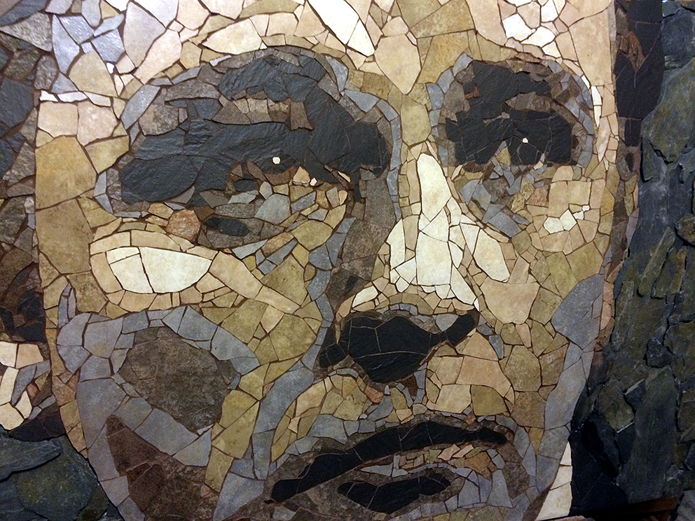 Richard Burton mosaic