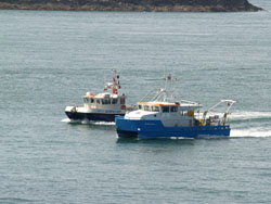 Swansea and Cardiff Research vessels