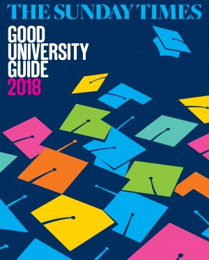 The Sunday Times Good University Guide 2018 logo